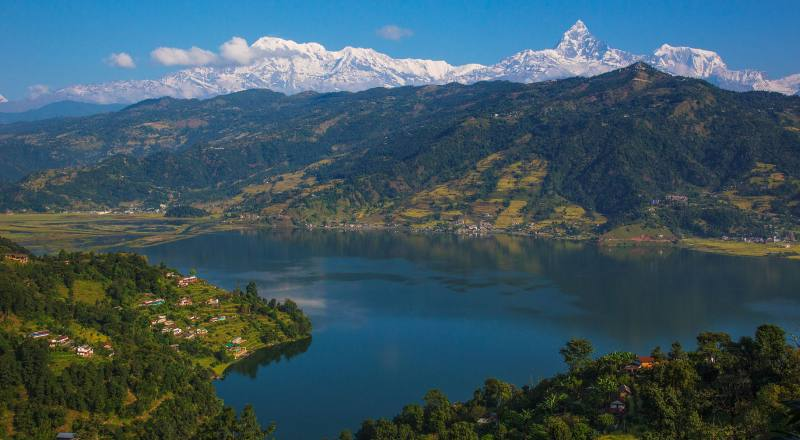 pokhara (the city of Lake & mountains)