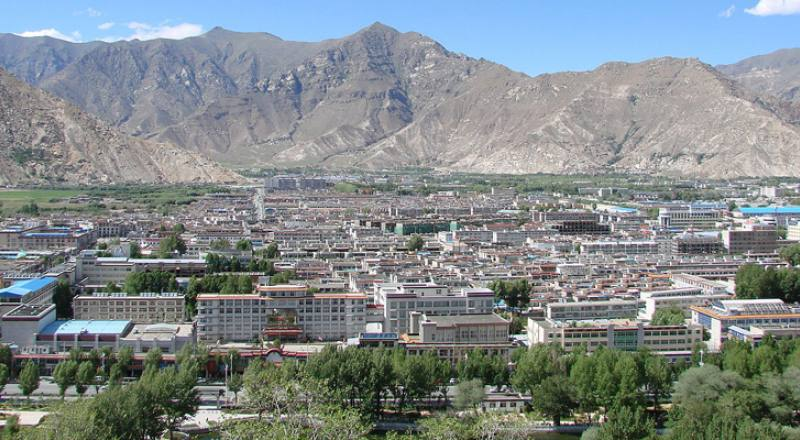 The Ancient City Of Lhasa