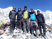 Everest base camp trek- Photo taken at Kala Pattar