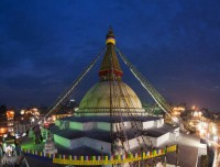 Tour of Boudhanath Stupa