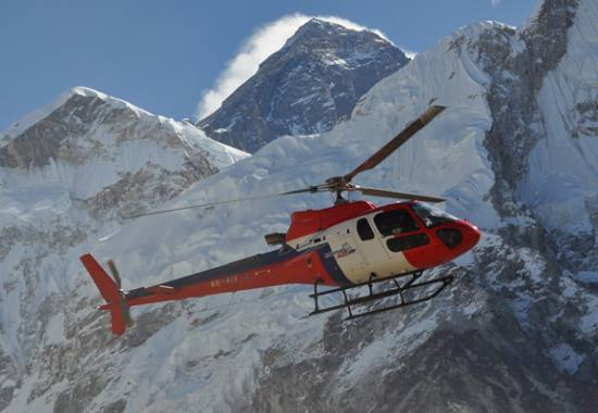 Himalayas Helicopter Tour From Kathmandu With Everest Base Camp